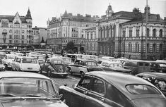 Tältä keskustori näytti 1950-luvulla. Tampere-Seura/Ensio Kauppila. Street View, Historia