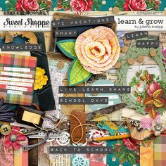 Sweet Shoppe Designs :: Digital Scrap Kits :: *FREE with Your $10 Purchase* Learn & Grow kit by Juliana Kneipp
