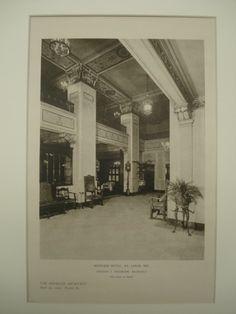 Mayfair Hotel , St. Louis, MO, 1926, Preston J. Bradshaw