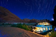 houseboat on Lake Powell, Utah. I am sort of dying to do this.