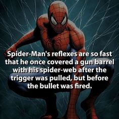 Spiderman fact (his awesomeness is overwhelming) Marvel Facts, Marvel Vs, Marvel Memes, Marvel Dc Comics, Comic Movies, Comic Book Characters, Marvel Characters, Comic Character, Comic Books