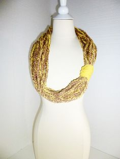 2013 fashion Infinity Chain Warmer scarfChunky  by PIPPADUSHES, $19.00