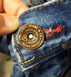 loft jeans button