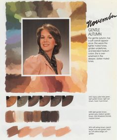 Still up in the air about whether I'm a soft summer, soft autumn or toned autumn but I know I like this palette!