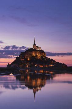 Mont-Saint-Michel, patrimoine mondial de l'UNESCO.