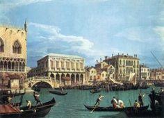 Il Bacino di San Marco con il Bucintoro - Canaletto
