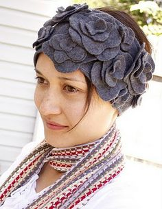 DIY headwrap / ear warmers ... Great upcycle opportunity