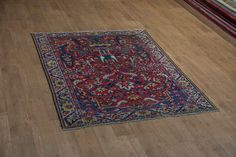 Hand Knotted Bahktiar Rug from Iran (Persian). Length: 196.0cm by Width: 154.0cm. Only £446 at https://www.olneyrugs.co.uk/shop/rugs-for-sale/persian-bahktiar-21159.html    Buy one of our stunning selection of Persian rugs, kilim ottomans and Kilim cushions at www.olneyrugs.co.uk