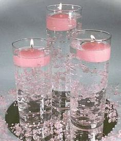 "table arrangements for wedding reception | Related Posts for "" wedding reception candle centerpieces """