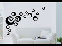 como decorar una pared de tu casa - Búsqueda de Google Design Pop, Wall Design, Diy Wall Painting, Village House Design, Room Wall Decor, Bedroom Colors, Home Wall Art, Abstract Wall Art, Paint Designs