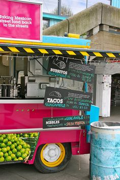 Mexican Food Stand