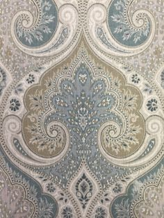 Litika Spa Ikat Fabric - Upholstery Fabric By The Yard - Designer Fabric - Portfolio - Latika by ShopMyFabrics on Etsy https://www.etsy.com/listing/263288223/litika-spa-ikat-fabric-upholstery-fabric