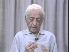 Jiddu Krishnamurti - Why Do We See Ourselves In Our Problems. - YouTube