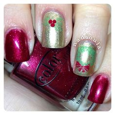Color Club Berry and Bright with Orly Luxe stamped using Bundle Monster BM14 and BM-H03 in Sally Hansen Insta-Dri I-rush and Rapid Red.