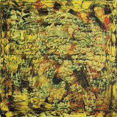 OHNE TITEL  Öl auf Leinwand  2010  80x80cm  von Stefan Kubicka  www.stefankubicka.at