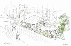 Image 11 of 15 from gallery of Kengo Kuma Designs Cultural Village for Portland Japanese Garden. Photograph by Kengo Kuma & Associates Kengo Kuma, Portland Japanese Garden, Washington Park, Garden Drawing, Natural Garden, Garden Photos, Cultural, Garden Stones, Art And Architecture