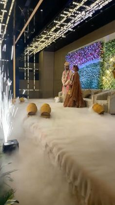 Indian Wedding Pictures, Indian Wedding Stage, Wedding Stage Backdrop, Wedding Stage Design, Wedding Mandap, Wedding Stage Decorations, Indian Weddings, Wedding Backdrop Design, Indian Wedding Couple