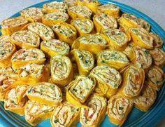 Chicken Enchilada Dip Roll-Ups