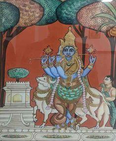 Yashoda Krishna, Krishna Radha, Mysore Painting, Madhubani Painting, Traditional Paintings, Traditional Art, Temple India, Krishna Images, Karnataka