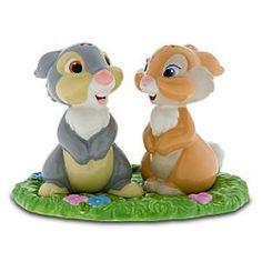 Thumper & Miss Bunny 3-piece salt and pepper set           Want