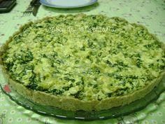 Torta de massa podre com farinha integral