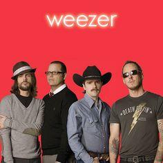Heart Songs by Weezer on Weezer (Red Album) Weezer, The Red Album, Band Stickers, Rock & Pop, Pork N Beans, Heart Songs, Pochette Album, Alternative Music, Pop Punk