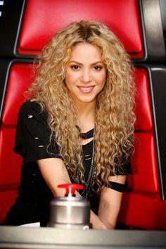 """LAS CADERAS TABASCO: Nueva foto: Shakira en """"The Voice"""""""