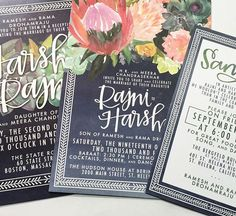 Custom wedding invites by laurenish design Custom Wedding Invitations, Invites, Hand Lettering Envelopes, Pretty Letters, D1, Save The Date, Getting Married, Etsy Seller, Marriage