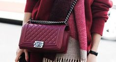 Looking for the perfect Chanel knock-off? We found it! Check it out at MonStyle | Fashion | Designer | Chanel Boy Bag |