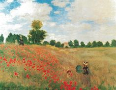 Claude Monet- Field of Poppies