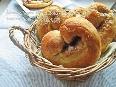 tangzhong bread with peanut butter and jam filling