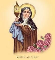 Gloriosísima Virgen y dignísima Madre Santa Clara, espejo clarísimo de santidad y pureza, base firme de la más viva fe, …Share the joy