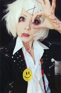 Tokyo ghoul cosplay! I luv it