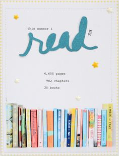 This summer I read... by kelseyespecially at @studio_calico