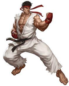 Ryu from Street Fighter III: Third Strike Online Edition