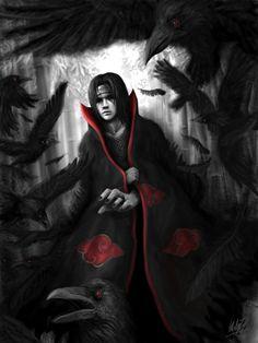 The Dark Knight of Konoha - Uchiha Itachi by Penator.deviantart.com on @deviantART