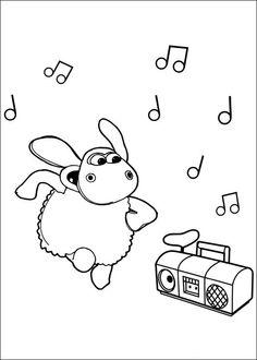 Coloriage Dessins A Imprimer Et La Couleur En Ligne Timmy Le Mouton 22 Shaun The SheepColoring Pages