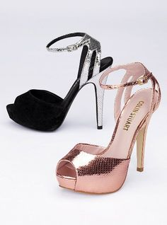 Bridesmaid shoes? @Shandy Heifner @Lindsi Norris Who knew Victoria Secret had shoes?!