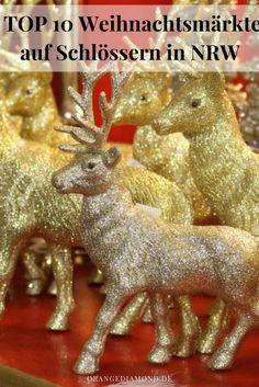 Weihnachtsmarkt im Schloss in NWR: Meine TOP 10 Weihnachtsmärkte in NRW - kein Gedränge und ideal für Familien und Kinder. Das Programm ist sehr vielfältig und die Lichtershow jedes Jahr sehr spektakulär.