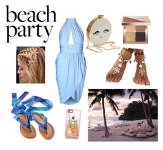 Beach party by afrodille-by-andreea on Polyvore featuring Casetify and Bobbi Brown Cosmetics