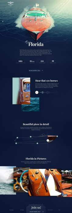 Yacht club – boat page by Martin Béber, via From up North