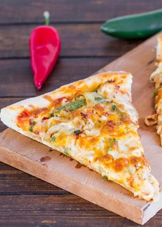 Chicken Fajita Pizza – if you love chicken fajitas, then this pizza is for you. It's cheesy, it's spicy, it's out of this world.