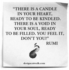 that candle in your heart