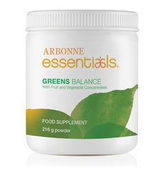 Greens Balance #6232 - Arbonne  The perfect way to get all those nutritious greens your body craves To find out more contact me at lisadirollo@outlook.com or visit Arbonne international.com and use my ID 449001433