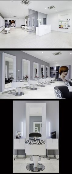 Hair Salon Capolavoro - Mantova (Italy) - Salon Design by Mauro Cimarosti - | hair-sublime.com