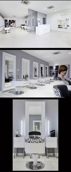 Hair Salon Capolavoro - Mantova (Italy) - Salon Design by Mauro Cimarosti -   hair-sublime.com