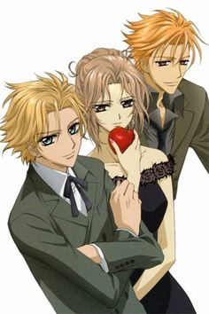 Aido, Ruka, and Akatsuki WHY CAN'T RUKA AND AKATSUKI DATE THEY WOULD BE SOOOOO CUTE<3