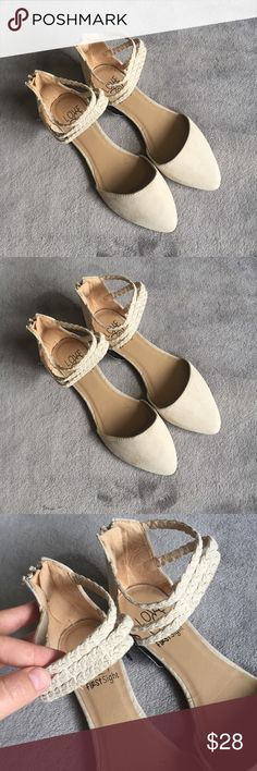 Brand new Beige Flats Suede like material, brand new with tags. Make an offer Shoes Flats & Loafers