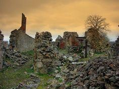 Oradour sur Glane, Martyr village, Limousin, France