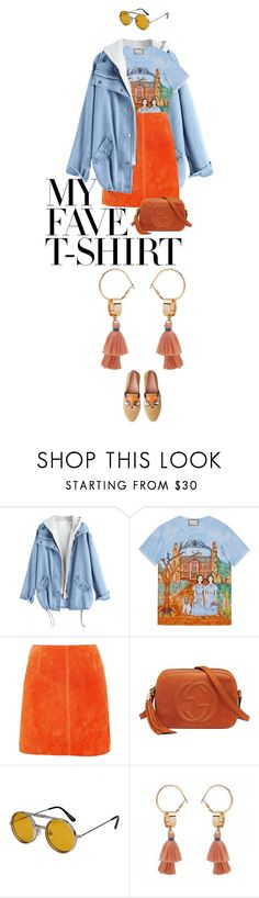 """""""eva1997"""" by evava-c on Polyvore featuring Gucci, River Island, Spitfire and MyFaveTshirt"""